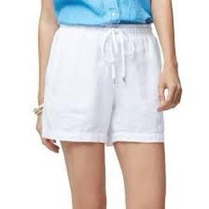 NWT Tommy Bahama White Linen Shorts Sz L